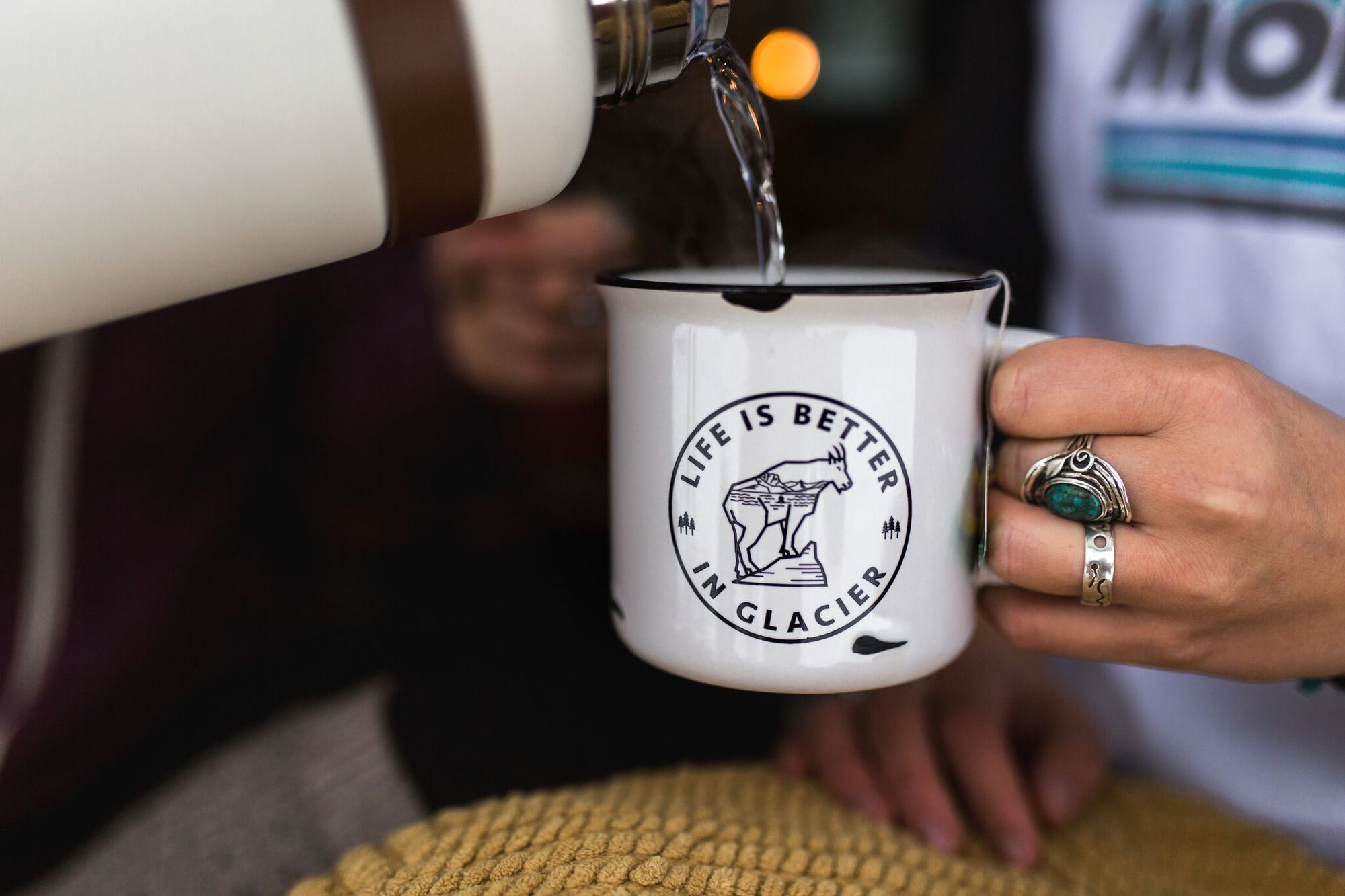 Life is Better in Glacier Mug from The Montana Scene | Montana Laura Blog | J. Vigil Photography