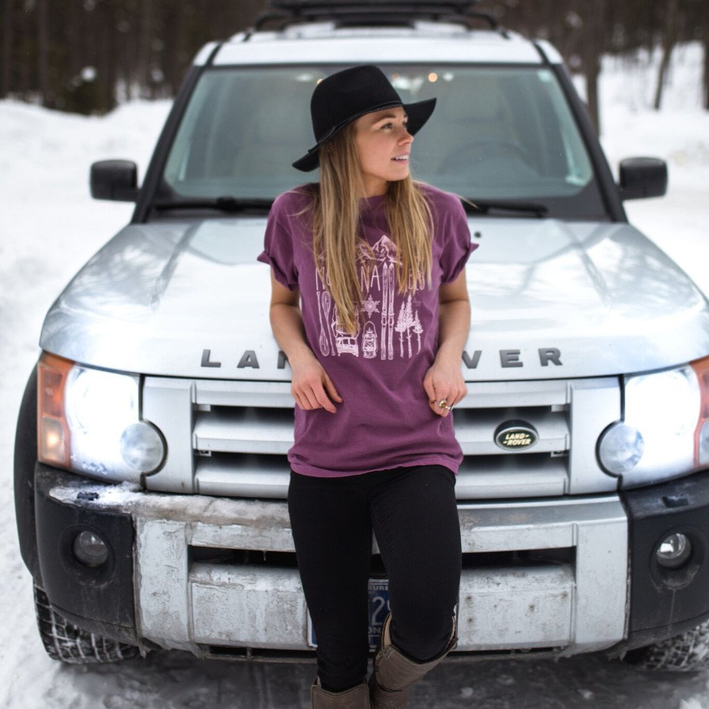 Montana Vibes Unisex T from The Montana Scene | Montana Laura Blog | J. Vigil Photography