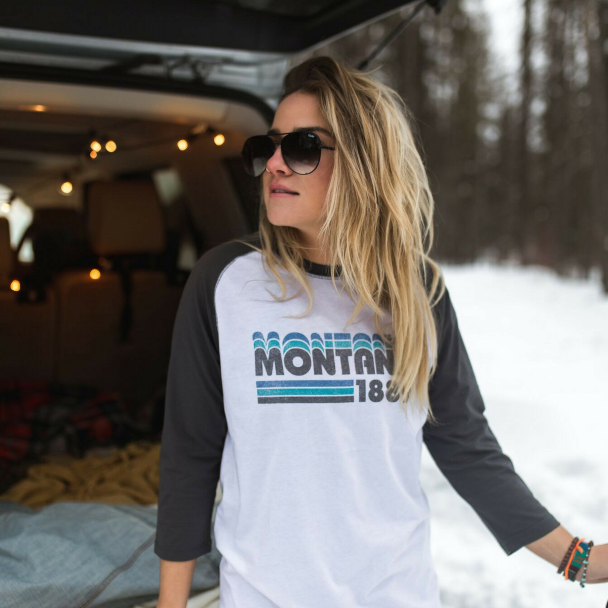 Montana 1889 Retro Raglan from The Montana Scene | Montana Laura Blog | J. Vigil Photography